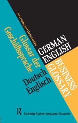 German/English Business Glossary book