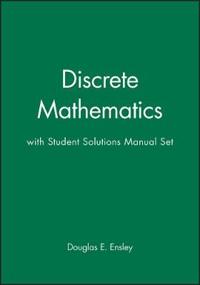 Discrete Mathematics with Student Solutions Manual Set book