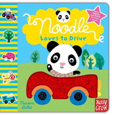 Noodle Loves to Drive by Marion Billet