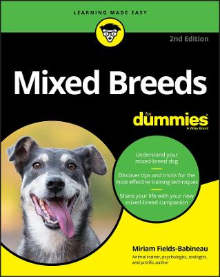 Mixed Breeds For Dummies by Miriam Fields-Babineau