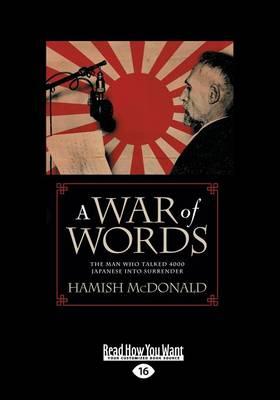 War of Words by Hamish McDonald