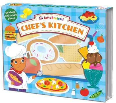 Let's Pretend Chefs Kitchen book