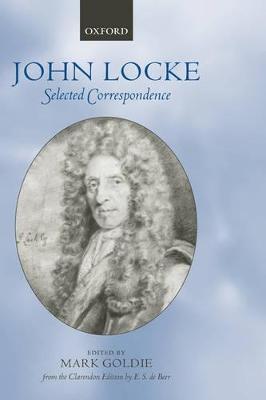 John Locke: Selected Correspondence by Mark Goldie