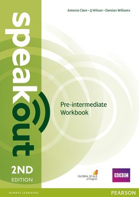 Speakout Pre-Intermediate Workbook Without Key by Damian Williams