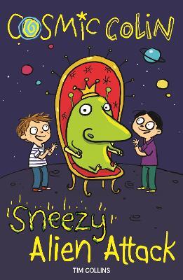 Sneezy Alien Attack: Cosmic Colin book