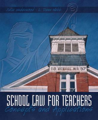 School Law for the Teachers book