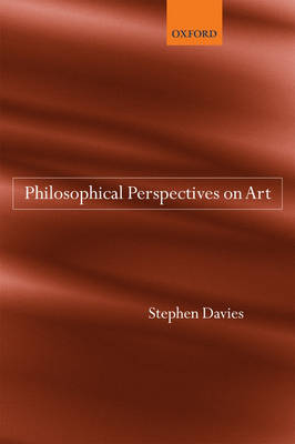 Philosophical Perspectives on Art book