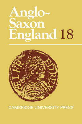 Anglo-Saxon England by Peter Clemoes