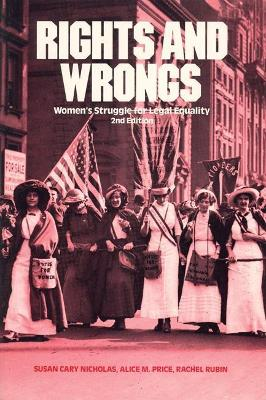Rights and Wrongs: Women's Struggle for Legal Equity book