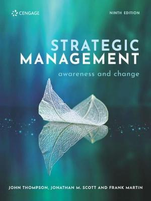 Strategic Management Awareness and Change by John Thompson