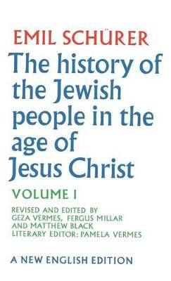 History of the Jewish People in the Age of Jesus Christ book