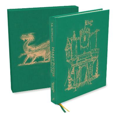 Harry Potter and the Goblet of Fire: Deluxe Illustrated Slipcase Edition by J.K. Rowling