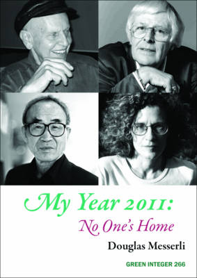 My Year 2011: No One's Home by Douglas Messerli
