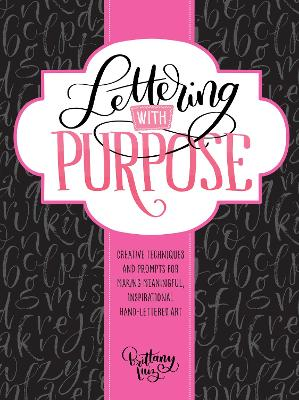 Lettering with Purpose by Brittany Luiz