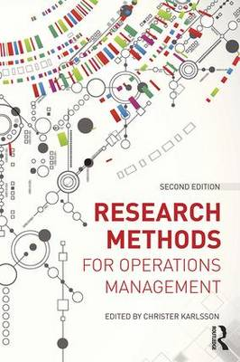 Research Methods for Operations Management by Christer Karlsson