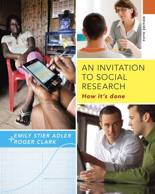 An Invitation to Social Research: How It's Done by Emily Adler