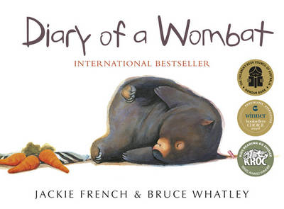 Diary of a Wombat book