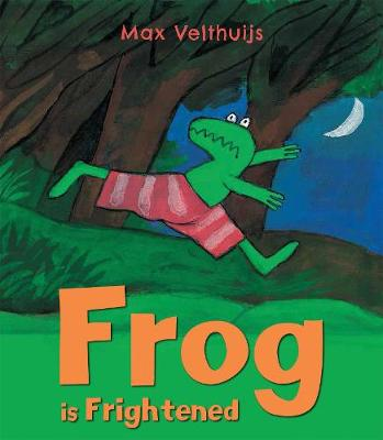 Frog is Frightened book