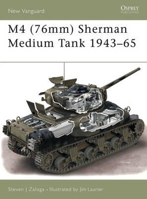 M4 (76mm) Sherman Medium Tank 1943-53 book
