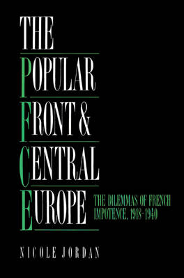 Popular Front and Central Europe book