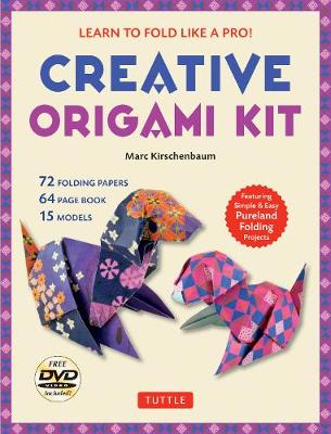 Creative Origami Kit: Learn to Fold Like a Pro!: Instructional DVD, 64-Page Origami Book, 72 Origami Papers: Original Easy Origami for Kids or Adults book