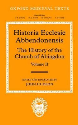 Historia Ecclesie Abbendonensis book