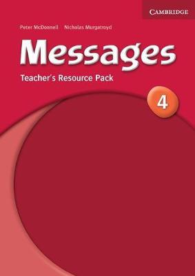 Messages 4 Teacher's Resource Pack book