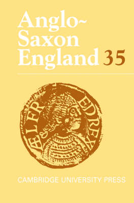 Anglo-Saxon England: Volume 35 by Malcolm Godden