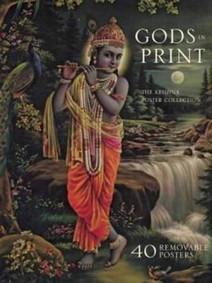 Gods In Print: The Krishna Poster Collec by Mandala Publishing