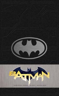 Batman Ruled Pocket Journal by Matthew K. Manning