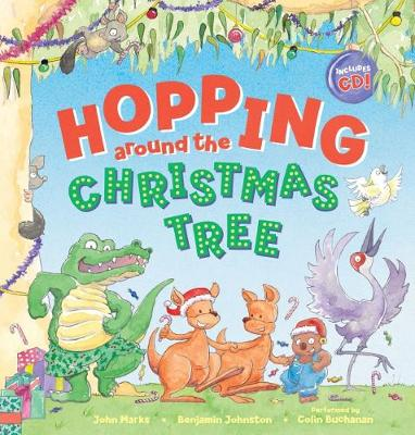 Hopping Around the Christmas Tree HB + CD book