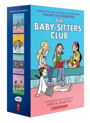 Babysitters Club Colour Graphix 1-4 Box Set book