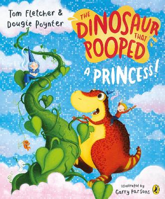 Dinosaur that Pooped a Princess book