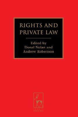 Rights and Private Law by Andrew Robertson