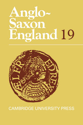 Anglo-Saxon England by Malcolm Godden