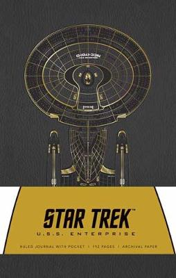 Star Trek Hardcover Ruled Journal (Enterprise) by Insight Editions