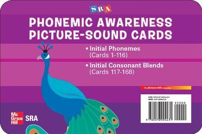 Phonemic Awareness PreK-K, Picture/Sound Cards book