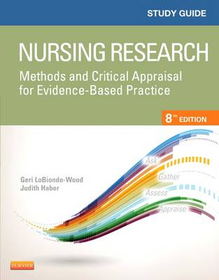 Study Guide for Nursing Research by Geri LoBiondo-Wood