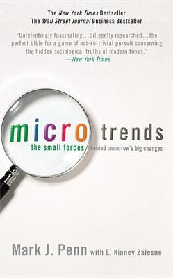 Microtrends by Mark Penn