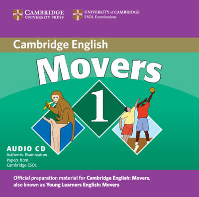 Cambridge Young Learners English Tests Movers 1 Audio CD book