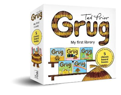Grug My First Library: 5 classic board books book