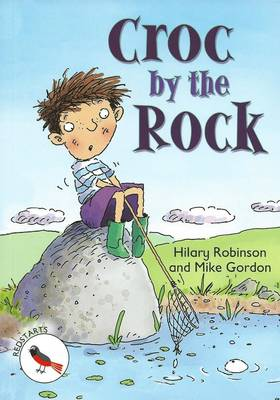 Croc by the Rock by Hilary Robinson