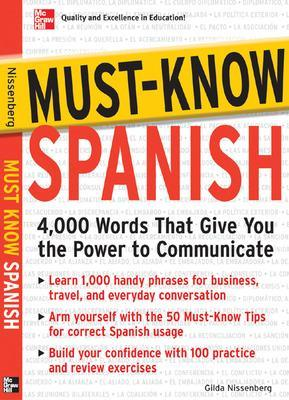 Must-Know Spanish by Gilda Nissenberg