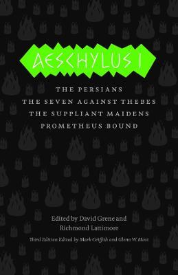 Aeschylus I by Aeschylus