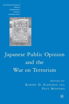 Japanese Public Opinion and the War on Terrorism book