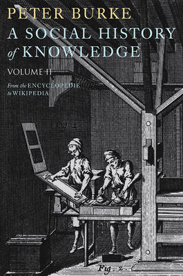 Social History of Knowledge II book