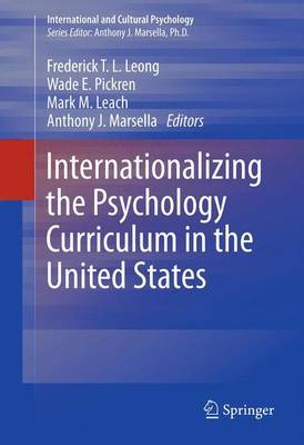 Internationalizing the Psychology Curriculum in the United States by Frederick Leong