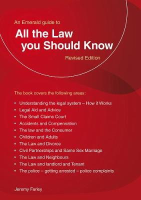 All The Law You Should Know by Jeremy Farley