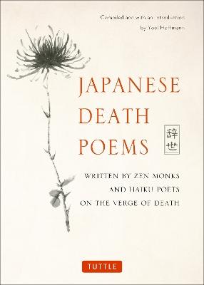 Japanese Death Poems by Yoel Hoffmann
