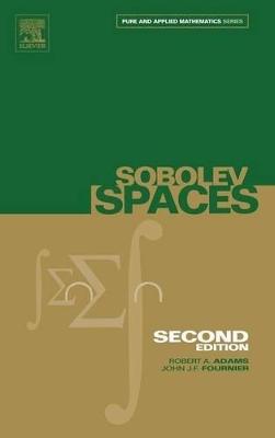 Sobolev Spaces book